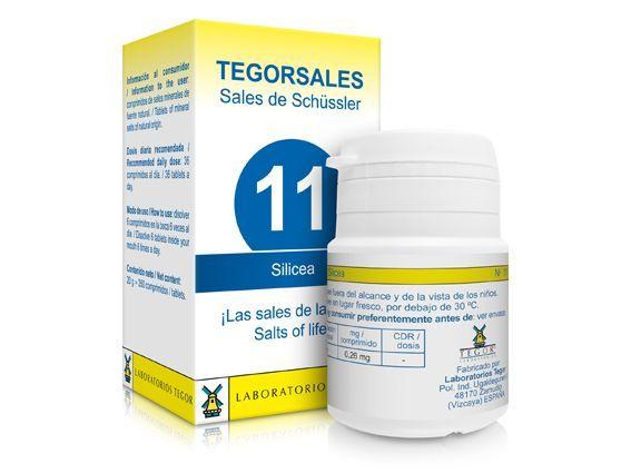 Biosales Nº 11 Silicea 350 comprimidos Tegor