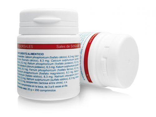 Biosales Nº 18 200 comprimidos Tegor