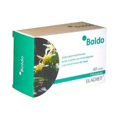 Boldo 330 mg. 60 comprimidos Eladiet
