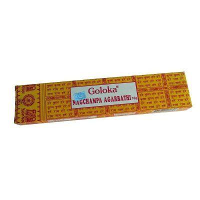 Incienso Goloka 20 gr. (16 varillas) Nag Champa