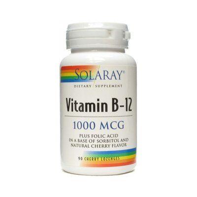 Vitamina B-12 1000 mgc. 90 comprimidos Solaray