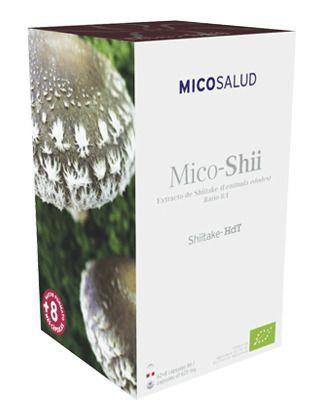 Mico-Shii Shiitake HdT 70 cápsulas Hifas da Terra