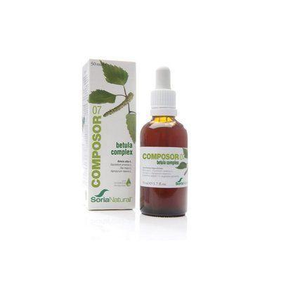 Composor 07 Betula Complex 50 ml Soria Natural