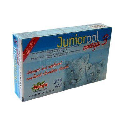 Juniorpol 20 ampollas Plantapol