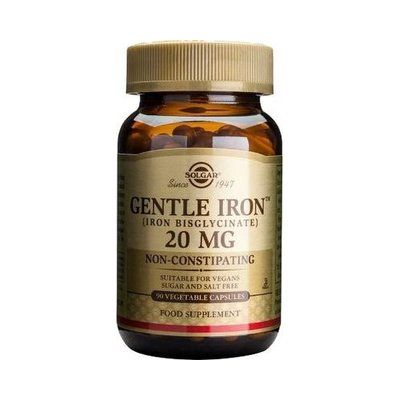 Gentle Iron 20 mg 90 cápsulas Solgar