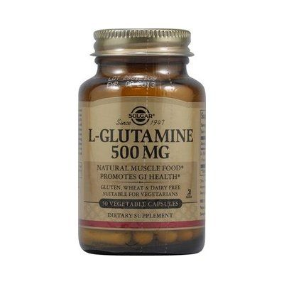 L-Glutamina 500 mg 50 cápsulas Solgar