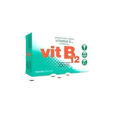 Vitamina B12 48 comprimidos retard Soria Natural