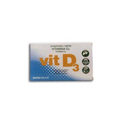 Vitamina D3 48 comprimidos retard Soria Natural