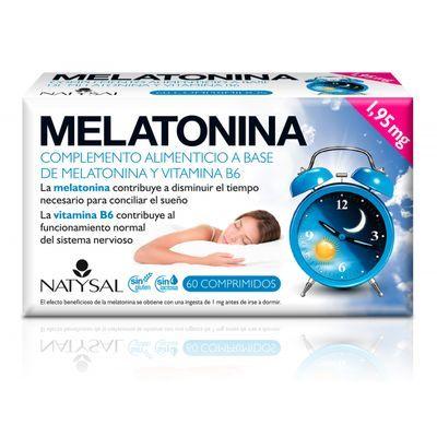 Melatonina 60 comprimidos Natysal